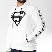 /achat-sweats-capuche/superman-sweat-capuche-logos-blanc-158352.html
