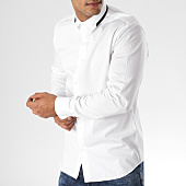 /achat-chemises-manches-longues/selected-chemise-manches-longues-slimmiro-blanc-158364.html