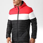 /achat-doudounes/john-h-doudoune-915-noir-rouge-blanc-158459.html