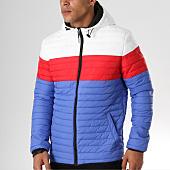 /achat-doudounes/john-h-doudoune-915-bleu-clair-blanc-rouge-158461.html