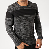 /achat-pulls/john-h-pull-jp18-gris-anthracite-chine-158482.html