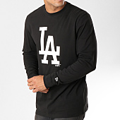 /achat-t-shirts-manches-longues/new-era-tee-shirt-manches-longues-team-apparel-mlb-los-angeles-dodgers-1788904-noir-158519.html