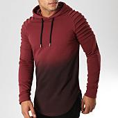 /achat-sweats-capuche/lbo-sweat-capuche-oversize-506-bordeaux-degrade-noir-158759.html