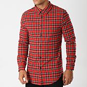 /achat-chemises-manches-longues/uniplay-chemise-manches-longues-t558-rouge-carreaux-158721.html