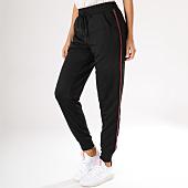 /achat-pantalons-joggings/brave-soul-pantalon-jogging-femme-panther-avec-bandes-noir-158798.html