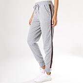 /achat-pantalons-joggings/brave-soul-pantalon-jogging-femme-panther-avec-bandes-gris-chine-158800.html