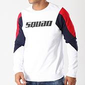 /achat-sweats-col-rond-crewneck/uniplay-sweat-crewneck-uy290-blanc-bleu-marine-rouge-158762.html