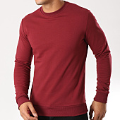 /achat-sweats-col-rond-crewneck/mtx-sweat-crewneck-tm6815-bordeaux-159093.html