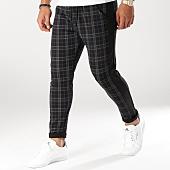 /achat-pantalons-carreaux/mtx-pantalon-carreaux-avec-bandes-tm0002-noir-gris-159101.html