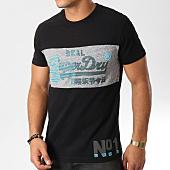 /achat-t-shirts/superdry-tee-shirt-vintage-logo-1st-panel-noir-159056.html