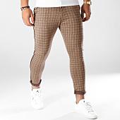 /achat-pantalons-carreaux/classic-series-pantalon-carreaux-9610-camel-noir-159216.html