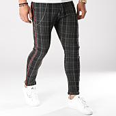 /achat-pantalons-carreaux/classic-series-pantalon-carreaux-9618-gris-anthracite-noir-159230.html