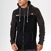/achat-sweats-zippes-capuche/ellesse-sweat-zippe-capuche-velours-1032n-noir-gris-anthracite-159293.html