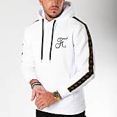 /achat-sweats-capuche/final-club-sweat-capuche-gold-label-avec-bandes-et-broderie-or-112-blanc-159260.html
