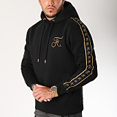 /achat-sweats-capuche/final-club-sweat-capuche-gold-label-avec-bandes-et-broderie-or-105-noir-159262.html
