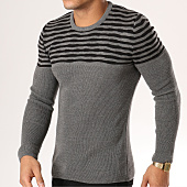 /achat-pulls/john-h-pull-jp17-gris-anthracite-159165.html