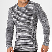 /achat-pulls/john-h-pull-jp22-gris-anthracite-chine-159166.html