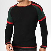 /achat-pulls/john-h-pull-jp07-noir-vert-kaki-rouge-159218.html