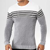 /achat-pulls/john-h-pull-jp12-gris-chine-blanc-159238.html
