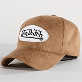 /achat-casquettes-de-baseball/von-dutch-casquette-suedine-4-beige-159294.html