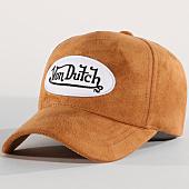 /achat-casquettes-de-baseball/von-dutch-casquette-suedine-5b-camel-159295.html