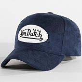/achat-casquettes-de-baseball/von-dutch-casquette-suedine-8-bleu-marine-159298.html