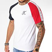 /achat-t-shirts/final-club-tee-shirt-raglan-bleu-blanc-rouge-avec-bandes-135-blanc-159419.html