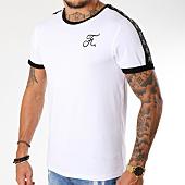 /achat-t-shirts/final-club-tee-shirt-premium-fit-avec-bandes-137-blanc-159423.html