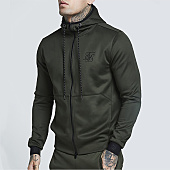 /achat-sweats-zippes-capuche/siksilk-sweat-zippe-capuche-13328-vert-kaki-159359.html