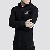 /achat-vestes/siksilk-veste-zippee-capuche-oversize-trough-14408-noir-159378.html