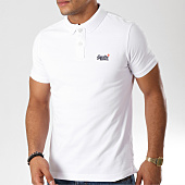 /achat-polos-manches-courtes/superdry-polo-manches-courtes-classic-pique-m11005ns-blanc-159325.html