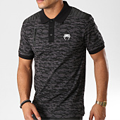 /achat-polos-manches-courtes/venum-polo-manches-courtes-laser-gris-anthracite-camouflage-159338.html