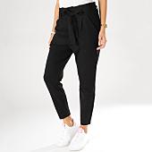 /achat-pantalons-joggings/vero-moda-pantalon-taille-haute-femme-loose-paperbag-noir-159376.html