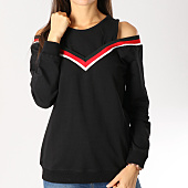 /achat-sweats-col-rond-crewneck/girls-only-sweat-femme-b1932-noir-rouge-blanc-159535.html