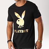 /achat-t-shirts/playboy-tee-shirt-logo-noir-dore-159561.html