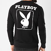 /achat-sweats-col-rond-crewneck/playboy-sweat-crewneck-back-bunny-noir-159565.html