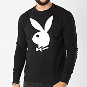 /achat-sweats-col-rond-crewneck/playboy-sweat-crewneck-bunny-noir-159568.html