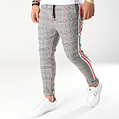 /achat-pantalons-carreaux/uniplay-pantalon-carreaux-t3297-noir-blanc-rouge-159456.html