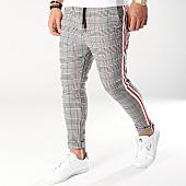 /achat-pantalons-carreaux/uniplay-pantalon-carreaux-t3297-noir-blanc-rouge-159456.html