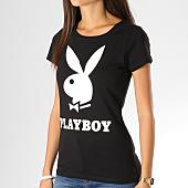 /achat-t-shirts/playboy-tee-shirt-femme-logo-noir-blanc-159696.html