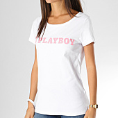 /achat-t-shirts/playboy-tee-shirt-femme-logo-alternate-blanc-rose-159702.html