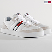 /achat-baskets-basses/tommy-hilfiger-jeans-baskets-em0em00192-100-white-159734.html