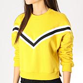 /achat-sweats-col-rond-crewneck/urban-classics-sweat-crewneck-femme-crop-tb2341-jaune-159852.html