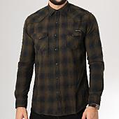 /achat-chemises-manches-longues/classic-series-chemise-manches-longues-k3011-vert-kaki-159948.html