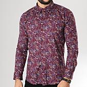 /achat-chemises-manches-longues/classic-series-chemise-manches-longues-ch-014-bordeaux-floral-160050.html