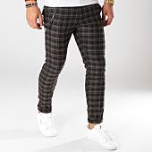 /achat-pantalons-carreaux/ikao-pantalon-carreaux-f251-noir-gris-rose-160091.html