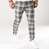 /achat-pantalons-carreaux/ikao-pantalon-carreaux-f252-ecru-noir-rouge-160092.html