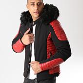 /achat-blousons/mtx-blouson-fourrure-105-noir-rouge-160004.html