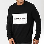 /achat-pulls/calvin-klein-pull-institutionnal-box-9542-noir-blanc-160218.html