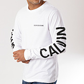 /achat-t-shirts-manches-longues/calvin-klein-tee-shirt-manches-longues-institutional-back-print-0404-blanc-160249.html